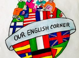 "ETWINNING PROJECT ""OUR ENGLISH CORNER"" IN STUDENT VOICE"